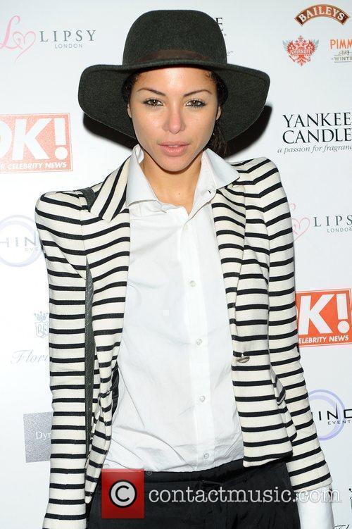Ana Araujo,  at the OK! Magazine Christmas...