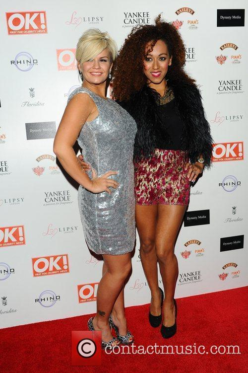 Kerry Katona and Danielle Brown,  at the...