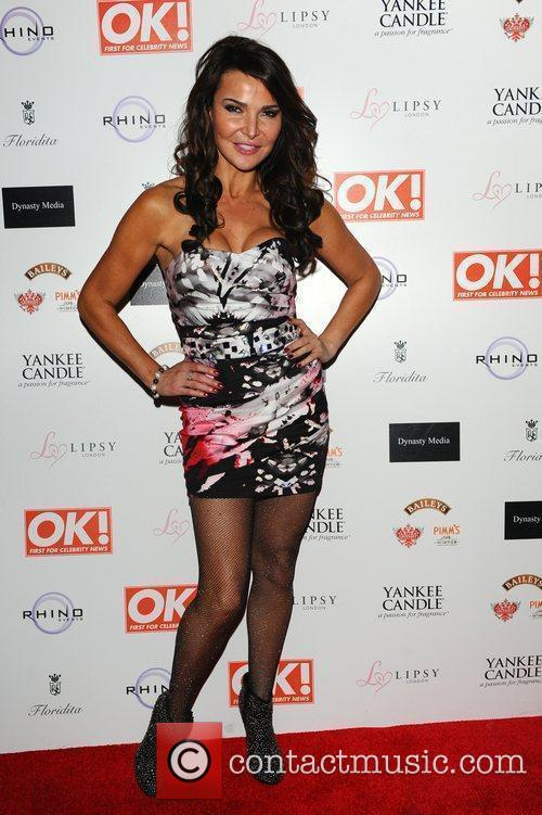 Lizzy Cundy,  at the OK! Magazine Christmas...