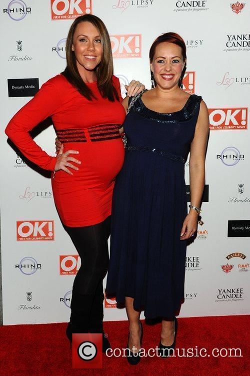 Michelle Heaton and Sarah Cawood,  at the...
