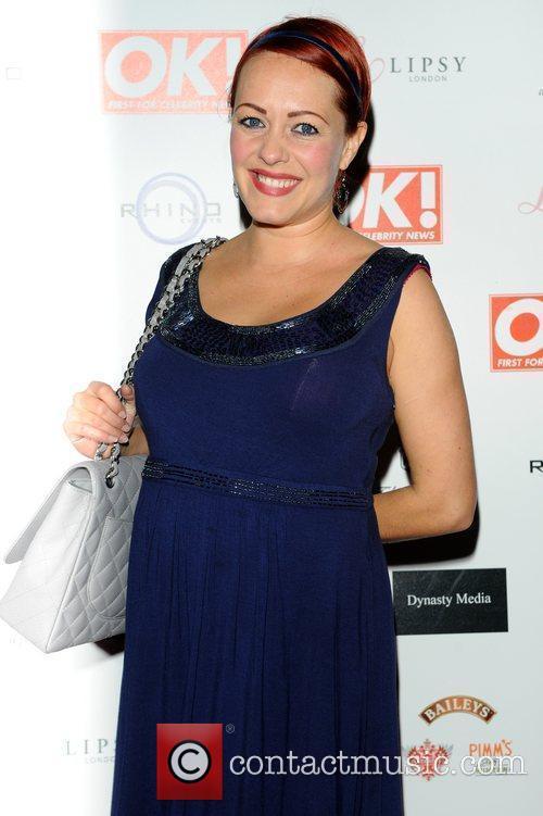 Sarah Cawood,  at the OK! Magazine Christmas...
