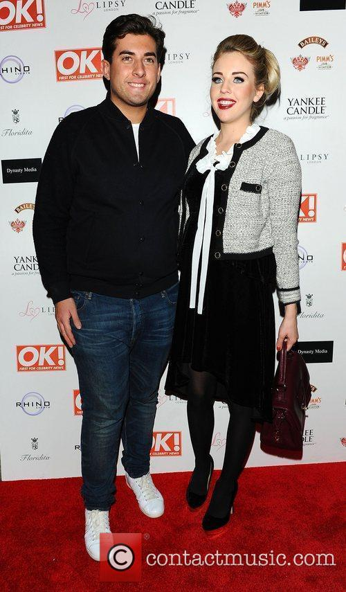 James Argent and Lydia Bright,  at the...