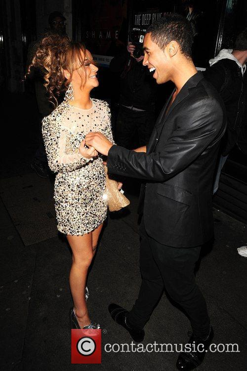 Chelsee Healey and Lucien Laviscount of the Risk...