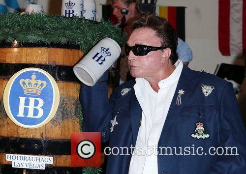 Roy Horn Siegfried and Roy kick off Oktoberfest...