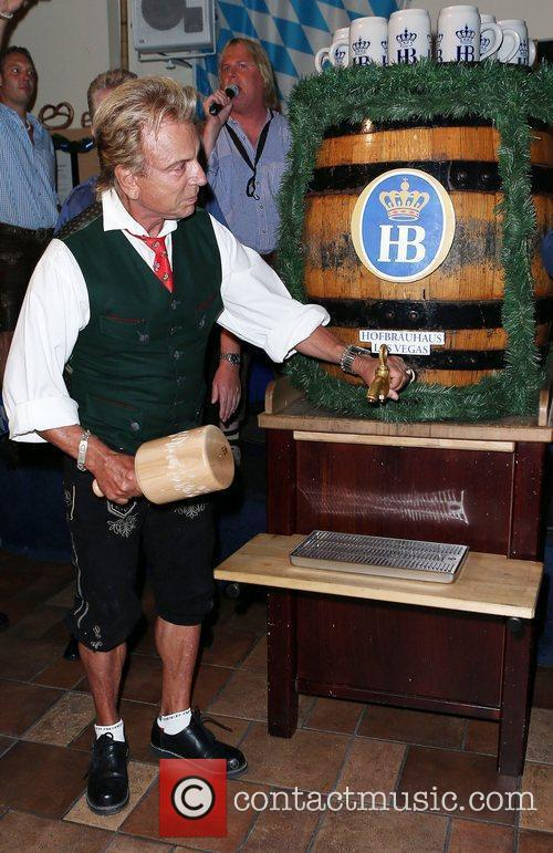 Siegfried Fischbacher Siegfried and Roy kick off Oktoberfest...