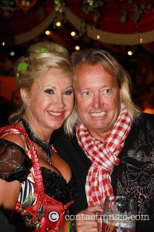 Carmen Geiss and Robert Geiss attend the Oktoberfest...