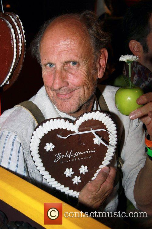 Hans Stuck attends the Oktoberfest beer festival at...