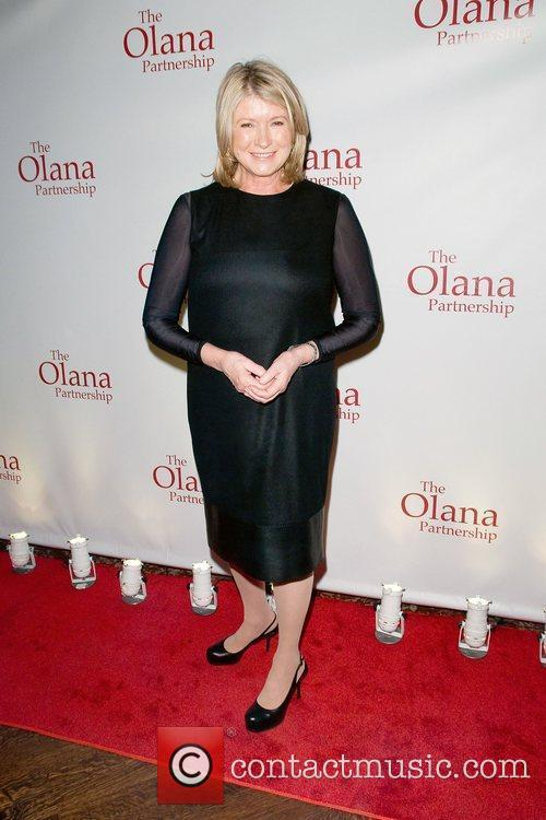Martha Stewart at the 2012 Olana Partnership Frederic...