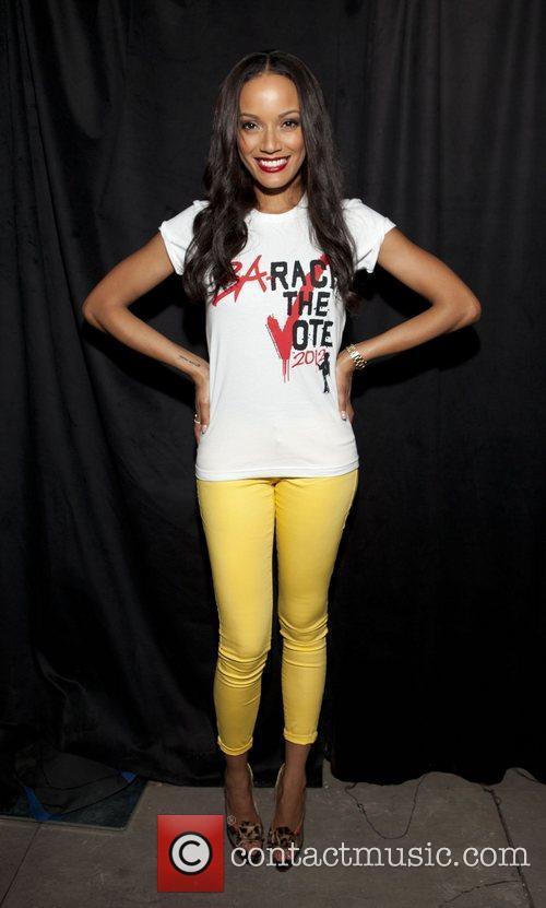 Selita Ebanks Old Navy Rockstar Fashion Show at...