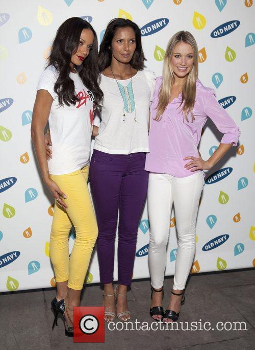 Selita Ebanks, Padma Lakshima, Katrina Bowden Old Navy...