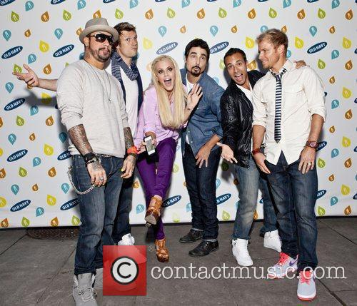 Backstreet Boys, Jenny Mccarthy and Bryant Park 5