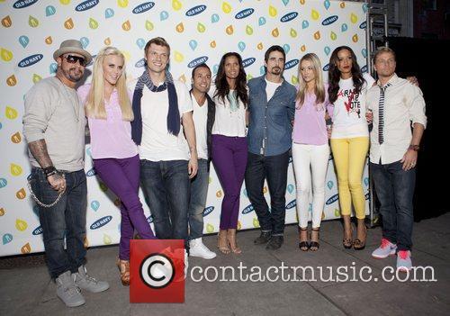 Backstreet Boys, Jenny Mccarthy, Katrina Bowden, Selita Ebanks and Bryant Park 2