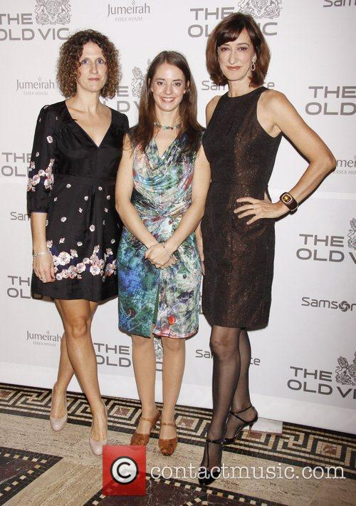 Hannah Stokely, Katherine Manners and Hadyn Gwynne The...