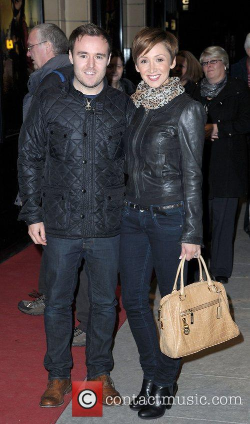 Alan Halsall and Lucy Jo Hudson,  at...
