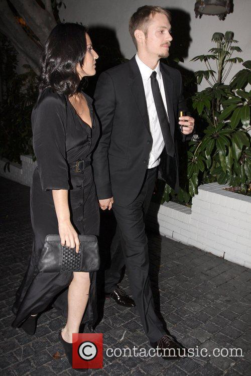 Leaving the Chateau Marmont