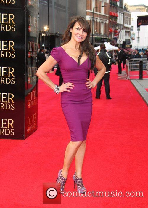 lizzie cundy the olivier awards 2012 held 3829056