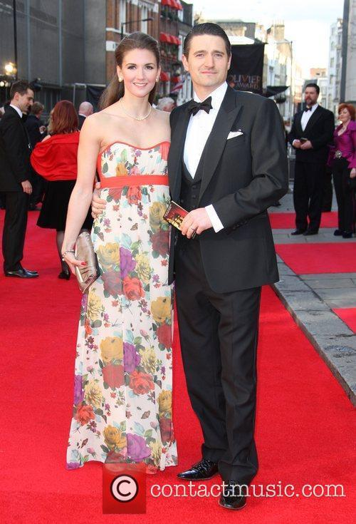 Summer Strallen and Tom Chambers The Olivier Awards...
