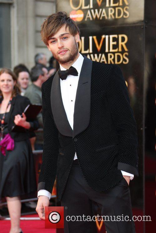 Douglas Booth The Olivier Awards 2012 held at...