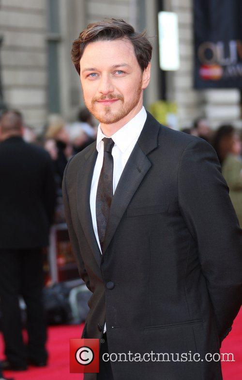 James McAvoy The Olivier Awards 2012 held at...