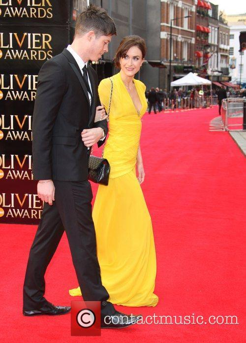 Katherine Kelly and guest The Olivier Awards 2012...