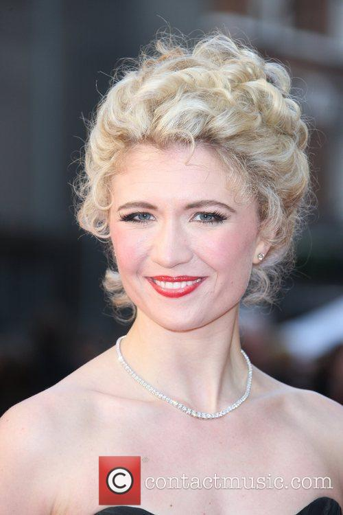 Scarlett Strallen The Olivier Awards 2012 held at...