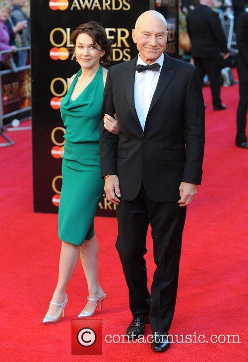 Olivier Awards - Sir Pat and Sunny