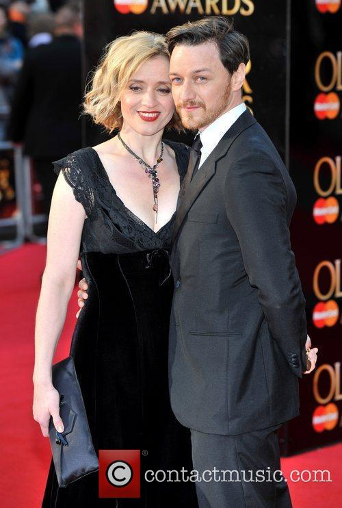 Anne-Marie Duff and James McAvoy 1