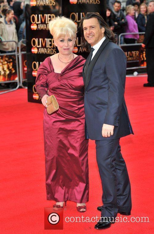 Barbara Windsor and and her husband Scott Mitchell...