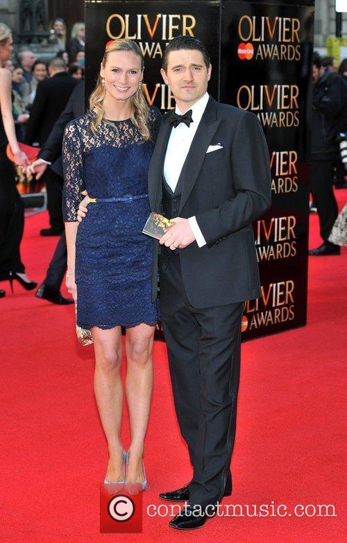 Clare Harding, Tom Chambers  The Olivier Awards...
