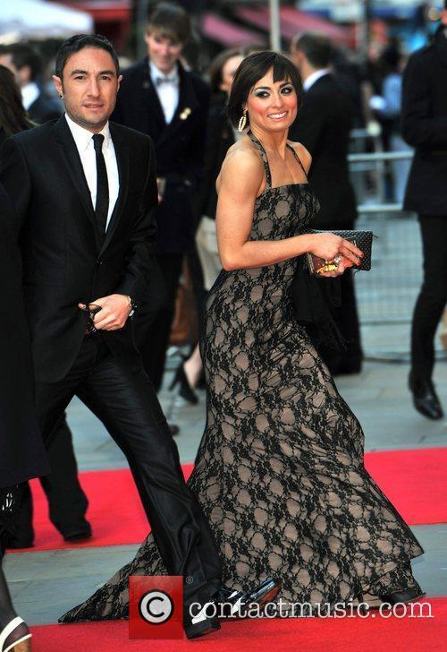 Flavia Cacace and guest The Olivier Awards 2012...