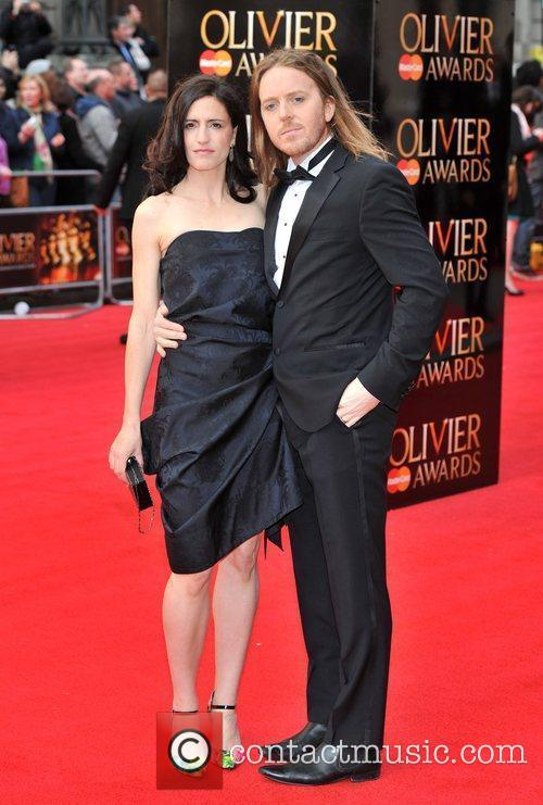 Tim Minchin and guest The Olivier Awards 2012...