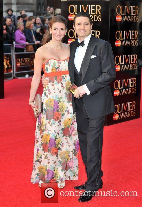 Tom Chambers and Summer Strallen The Olivier Awards...