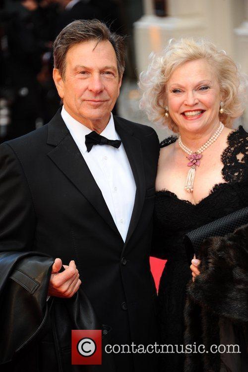 Brandon and Sandra Dickinson The Olivier Awards 2012...