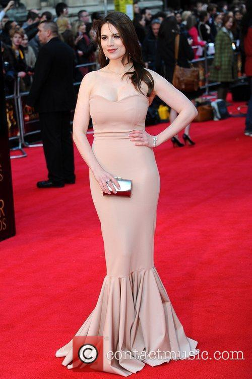 Haley Attwell The Olivier Awards 2012 held at...