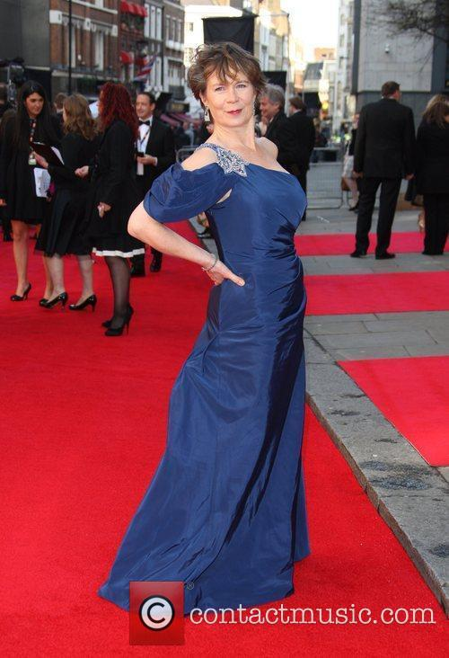 Celia Imrie The Olivier Awards 2012 held at...