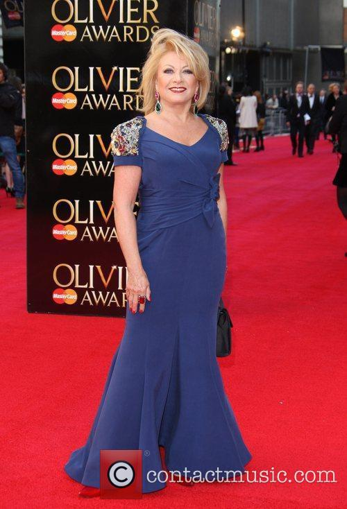 Elaine Paige The Olivier Awards 2012 held at...