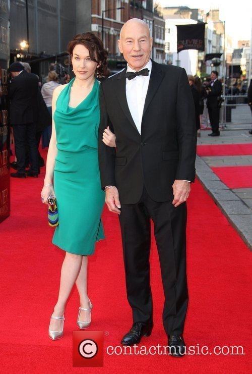 Patrick Stewart and wife Sunny Ozell The Olivier...