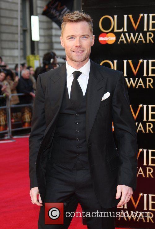 Ronan Keating The Olivier Awards 2012 held at...