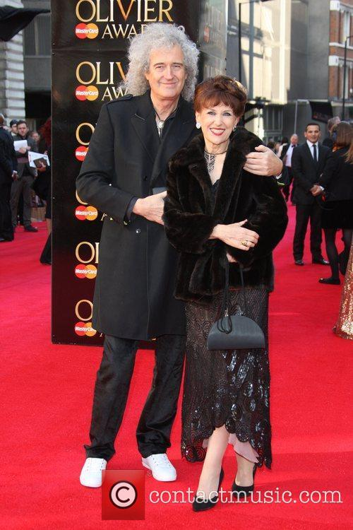 Brian May and Anita Dobson 5