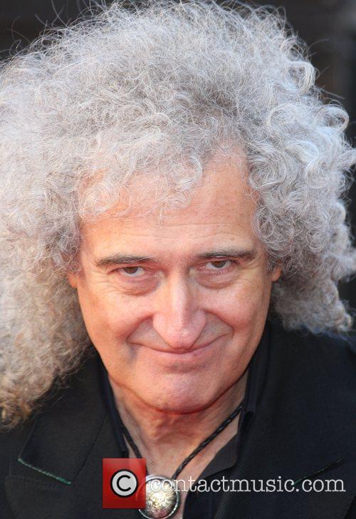 Brian May The Olivier Awards 2012 held at...