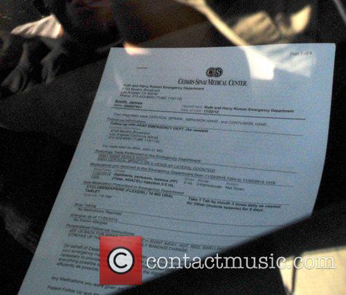 Olivier Martinez's medical record from Cedar Sinai Medical...