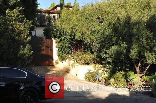 Olivier Martinez's West Hollywood home Los Angeles, California...