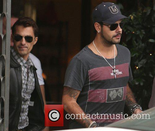 Olivier Martinez, Eduardo Cruz, Cecconi's Restaurant and West Hollywood 11