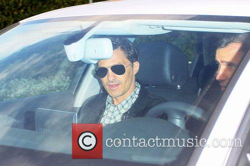 Olivier Martinez, Cecconi's Restaurant and West Hollywood 1