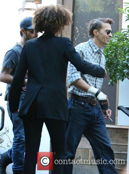 Olivier Martinez, Cecconi's Restaurant and West Hollywood 7
