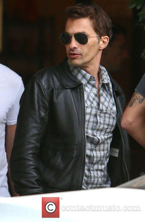 Olivier Martinez, Cecconi's Restaurant and West Hollywood 9