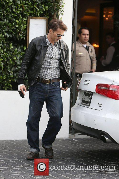 Olivier Martinez, Cecconi's Restaurant and West Hollywood 10