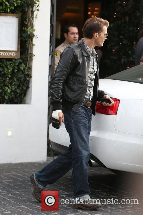 Olivier Martinez, Cecconi's Restaurant and West Hollywood 8