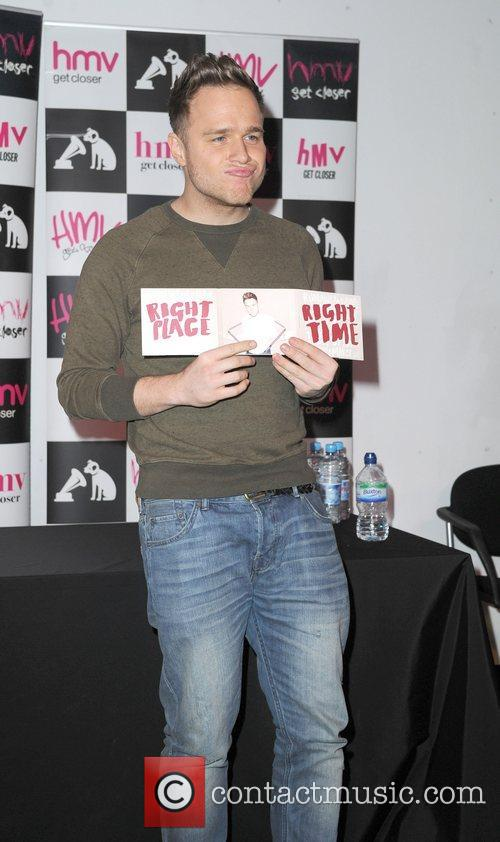 Olly Murs, Right Place, Right Time and Manchester 11