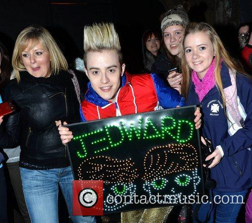 John Grimes and Jedward 4
